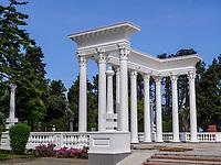 Kolonnaden beim Batumi Boulevard, Batumi, Adscharien - Atschara, Georgien, Europa<br /> Colonnades near Batumi Boulevard , Batumi, Adjara,  Georgia, Europe