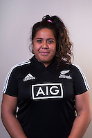 Aldora Itunu. New Zealand Black Ferns headshots at The Rugby Institute, Palmerston North, New Zealand on Thursday, 28 May 2015. Photo: Dave Lintott / lintottphoto.co.nz