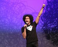 Humorist Adib Alkhalidey<br />  in  2013.
