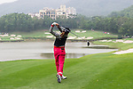 Yeun Jung Seo of South Korea tees off at the 15th hole during Round 2 of the World Ladies Championship 2016 on 12 March 2015 at Mission Hills Olazabal Golf Course in Dongguan, China. Photo by Lucas Schifres / Power Sport Images