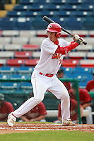 First Baseman Chu Fujia (30) of the China National Team during a game vs. the Houston Astros Instructional League team at Holman Stadium in Vero Beach, Florida September 28, 2010.   China is in Florida training for the Asia games which will be played in Guangzhou, China in November.  Photo By Mike Janes/Four Seam Images