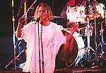 Various live photographs of female vocalist, Belinda Carlisle