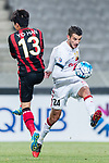 Sydney Wanderers Midfielder Lachlan Scott (R) in action during the AFC Champions League 2017 Group F match between FC Seoul (KOR) vs Western Sydney Wanderers (AUS) at the Seoul World Cup Stadium on 15 March 2017 in Seoul, South Korea. Photo by Chung Yan Man / Power Sport Images