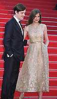SAM RILEY AND ALEXANDRA MARIA LARA - RED CARPET OF THE FILM 'ELLE' AT THE 69TH FESTIVAL OF CANNES 2016