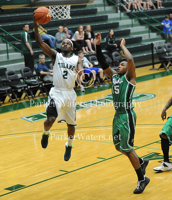 Tulane defeats Marshall, 68-65, on a late second three pointer at Fogelman Arena in Devlin Fieldhouse.