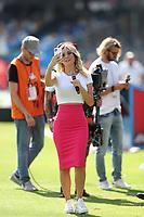 Diletta Leotta DAZN Selfie<br /> Napoli 29-9-2019 Stadio San Paolo <br /> Football Serie A 2019/2020 <br /> SSC Napoli - Brescia FC<br /> Photo Cesare Purini / Insidefoto