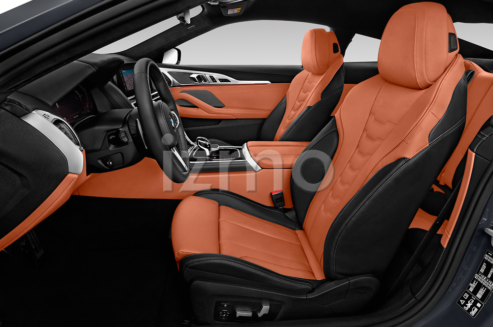 Front seat view of a 2019 BMW 8 Series M Sport 2 Door Coupe front seat car photos