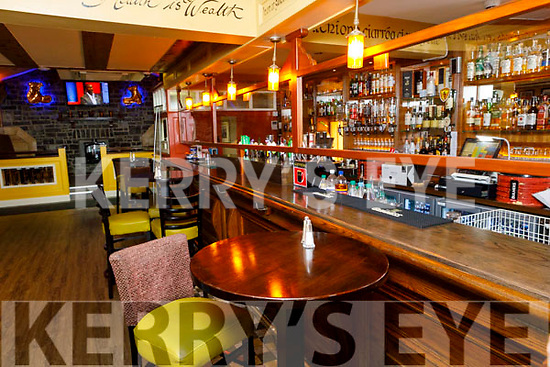 The new bar layout in the Brogue Inn, Rock St, Tralee
