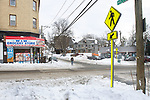 WATERBURY CT. - 18 December 2020-121820SV03-The Willow Hillside neighborhood in Waterbury Friday. Residents say they're aware of the increase in shooting and it's making them less likely to go out alone or go to a corner market.<br /> Steven Valenti Republican-American