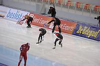 SPEEDSKATING: SOCHI: Adler Arena, 21-03-2013, Essent ISU World Championship Single Distances, Day 1, 1500m Men, Shani Davis (USA), Brian Hansen (USA), © Martin de Jong