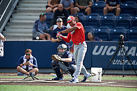 Robby Ashford (3) during the Under Armour All-America Game Practice, powered by Baseball Factory, on July 21, 2019 at Les Miller Field in Chicago, Illinois.  Robby Ashford attends Hoover High School in Hoover, Alabama and is committed to the University of Oregon.  (Mike Janes/Four Seam Images)