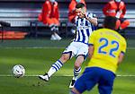 Joseba Zaldua (Real Sociedad) seen in action during  La Liga match round 10 between Cadiz CF and Real Sociedad at Ramon of Carranza Stadium in Cadiz, Spain, as the season resumed following a three-month absence due to the novel coronavirus COVID-19 pandemic. Nov 22, 2020. (ALTERPHOTOS/Manu R.B.)