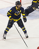 Marc Biega (Merrimack - 4) - The visiting Merrimack College Warriors defeated the Boston University Terriers 4-1 to complete a regular season sweep on Friday, January 27, 2017, at Agganis Arena in Boston, Massachusetts.The visiting Merrimack College Warriors defeated the Boston University Terriers 4-1 to complete a regular season sweep on Friday, January 27, 2017, at Agganis Arena in Boston, Massachusetts.