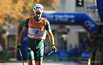 Alessio BERLANDA in action at FIS Sprint Rollerski World Cup in Trento © Pierre Teyssot