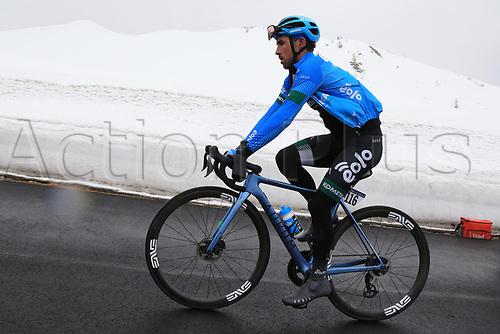 24th May 2021, Giau Pass, Italy; Giro d'Italia, Tour of Italy, route stage 16, Sacile to Cortina d'Ampezzo ; 116 GAVAZZI Francesco ITA