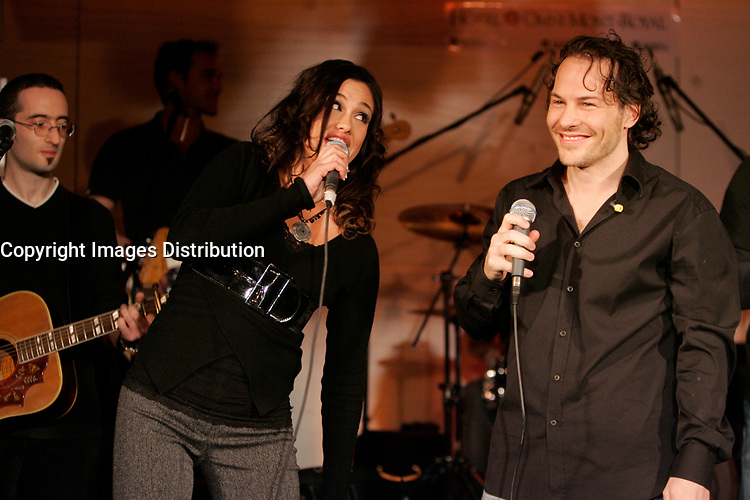 Former Formula One World Champion Jacques Villeneuve launch<br />