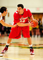 21 January 2010: Stony Brook University Seawolves' Tommy Brenton, in action against the University of Vermont Catamounts at Patrick Gymnasium in Burlington, Vermont. The Catamounts fell to the Seawolves 65-60 in the America East matchup. Mandatory Credit: Ed Wolfstein Photo