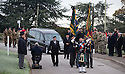 06/11/16<br /> <br /> In a particularly poignant ceremony, given that this week is traditionally the time we remember those who died in war, several hundred complete strangers turned up (to pay their respects) at the funeral of an old soldier who died last week, leaving no known relatives.<br /> <br /> It was an amazing response to a Facebook appeal launched by staff at Derby Royal Hospital, who had grown close to 95-year-old ex-Royal Pioneer Corps soldier John Kearns after he spent several weeks in their care, with just one friend visiting him.<br /> <br /> Nurses feared no-one would be at the funeral of Mr Kearns, who served in the forces for almost 30 years.<br />  <br /> So they contacted the Derbyshire branch of the Royal British Legion who launched a social media appeal to get as many veterans to attend the service, held at Markeaton crematorium in Derby, as possible.<br /> <br /> The touching plea was quickly shared on Facebook with many pledging their support and promising to turn up on the day.<br /> <br /> It was a fitting tribute to a soldier who served from 1943 to 1975, including periods stationed at the Suez Canal, and then the next seven years with the territorial army. <br /> <br /> ***Further information***<br /> <br /> Mr Kearns lived in Lace Maker Court, Long Eaton, Derbyshire.<br /> <br /> Records found at his house state that Mr Kearns  enlisted on August 5, 1943, in the Royal Army Pioneer Corp, in Belfast, and served with them for the whole of his Army career as a private<br /> <br /> All Rights Reserved F Stop Press Ltd. (0)1773 550665   www.fstoppress.com