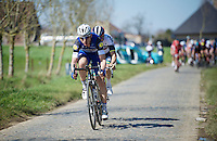 Tony Martin (DEU/Etixx-Quickstep) making the difference over the cobbles of the Haaghoek<br /> <br /> 100th Ronde van Vlaanderen 2016