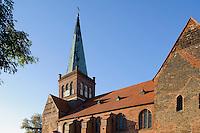 Marienkirche, 12.Jh. in Bergen auf Rügen, Mecklenburg-Vorpommern, Deutschland
