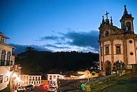 Igreja do Rosario em Ouro Preto. Minas Gerais. 2012. Foto de Cris Berger.