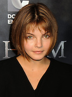 NEW YORK CITY, NY, USA - SEPTEMBER 15: Camren Bicondova arrives at the New York Series Premiere Of 'Gotham' held at the New York Public Library on September 15, 2014 in New York City, New York, United States. (Photo by Celebrity Monitor)