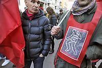 - Milano, manifestazione di protesta dei sindacati contro gli incidenti sul lavoro dopo la morte di  quattro operai in una fabbrica a nord della  città<br /> <br /> - Milan, trade union protest demonstration against accidents at work after the death of four workers in a factory north of the city