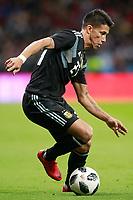 Argentina's Maximiliano Meza during international friendly match. March 27,2018.(ALTERPHOTOS/Acero) /NortePhoto.com NORTEPHOTOMEXICO
