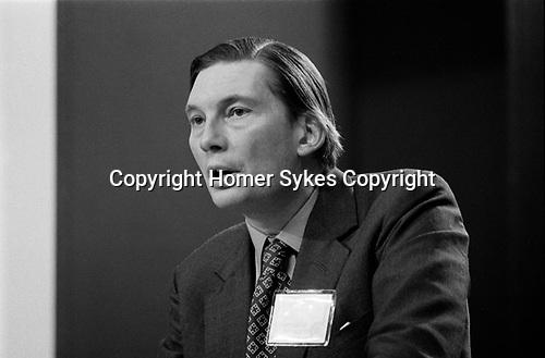 Henry Paul Guinness Channon, Baron Kelvedon,  Conservative Party Conference, Blackpool, Winter Gardens 1973 Lancashire UK