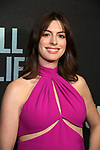"Anne Hathaway attends the Broadway Opening Night performance of ""Sea Wall / A Life"" at the Hudson Theatre on August 08, 2019 in New York City."