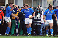 Mirco Bergamasco (Italia)<br /> Italia vs Irlanda<br /> Six Nations Rugby<br /> Stadio Flaminio, Roma, 05/02/2011<br /> Photo Antonietta Baldassarre Insidefoto