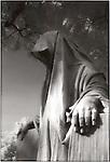 Graveyard statue
