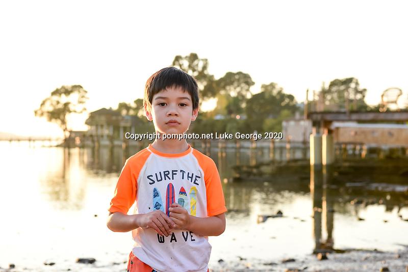 Benicia park and shoreline Fall portraits.