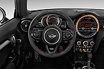 Car pictures of steering wheel view of a 2019 MINI Cooper John-Cooper-Works-Hardtop Door Hatchback Steering Wheel