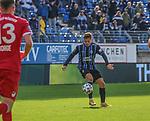 Jan-Hendrik Marx im Spiel gegen Türkgücü München beim Spiel in der 3. Liga, SV Waldhof Mannheim - Türgücü München.<br /> <br /> Foto © PIX-Sportfotos *** Foto ist honorarpflichtig! *** Auf Anfrage in hoeherer Qualitaet/Aufloesung. Belegexemplar erbeten. Veroeffentlichung ausschliesslich fuer journalistisch-publizistische Zwecke. For editorial use only. DFL regulations prohibit any use of photographs as image sequences and/or quasi-video.