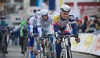 3 Days of De Panne.stage 1: Middelkerke - Zottegem..André Greipel (DEU) after the finish line