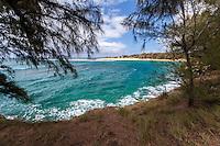 Gillin's Beach, part of Maha'ulepu Beach, south shore of Kaua'i