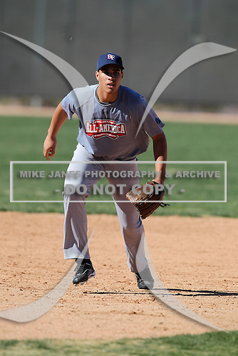 Carlos Pena-Tate during the Under Armour Pre-Season All-American Tournament at Kino Sports Complex on January 15, 2011 in Tucson, Arizona.  (Copyright Mike Janes Photography)