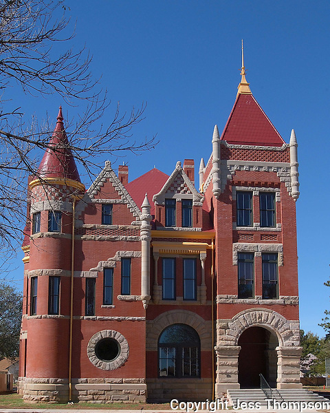 Donley County, Texas Courthouse