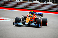 25th September 2021; Sochi, Russia; F1 Grand Prix of Russia  qualifying sessions;  04 NORRIS Lando gbr, McLaren MCL35M takes pole