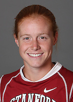 STANFORD, CA - OCTOBER 29:  Lauren Schmidt of the Stanford Cardinal women's lacrosse team poses for a headshot on October 29, 2009 in Stanford, California.