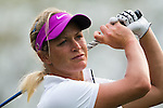 CHON BURI, THAILAND - FEBRUARY 17:  Suzann Pettersen of Norway plays a shoot on the 15th hole during day two of the LPGA Thailand at Siam Country Club on February 17, 2012 in Chon Buri, Thailand.  Photo by Victor Fraile / The Power of Sport Images