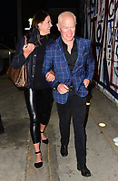 Neal McDonough And Ruve McDonough Spotted at Craigs in West Hollywood