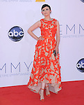 Ginnifer Goodwin at The 64th Anual Primetime Emmy Awards held at Nokia Theatre L.A. Live in Los Angeles, California on September  23,2012                                                                   Copyright 2012 Hollywood Press Agency