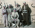 Iran 1983 .In Kamisli, between Ouchnavieh and Ourmieh, Akram Agha with his peshmergas .Iran 1983 .A Kamisli, entre Ouchnavieh et Ourmieh, Akram Agha avec ses peshmergas