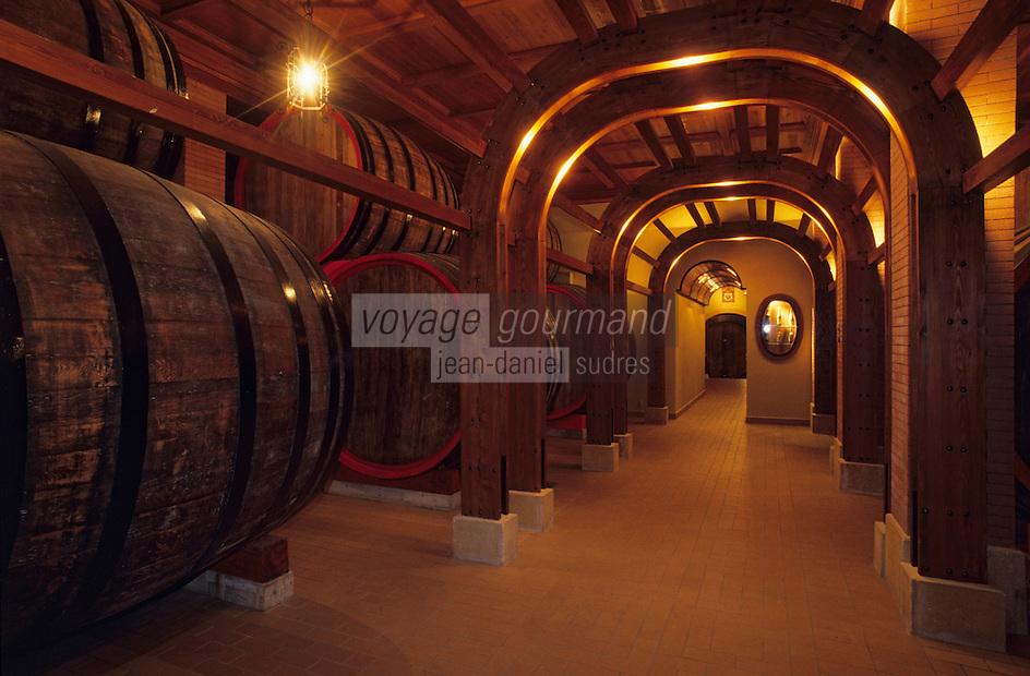 "Europe/Italie/Sicile/Palerme : Caves de ""La Casa Vinicola Duca di Salaparuta"" _Domaine viticole"