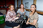 Enjoying the evening in Sean Ogs on Friday, l to r: Leah Canty, Elenor Moloney and Hannah Drealish all from Tralee