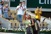 6th June 2021; Roland Garros, Paris France; French Open tennis championships day 8;  Attitude - Defaite de Elena Rybakina ( KAZ )