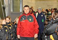 UEFA Women's Euro Qualifying group stage (Group 3) -  KFC Dessel - Armand Melis Stadion : BELGIUM -Northern Ireland ( Belgie - Noord Ierland ) : Ives Serneels..foto DAVID CATRY / Vrouwenteam.be / Loft6.be