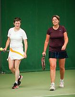 28-08-11, Tennis, Amstelveen, NVK, Nederlandse Veteranen Kampioenschappen, Dames dubbel